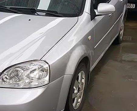 Bán xe Daewoo Lacetti EX 1.6 MT năm sản xuất 2008, màu bạc