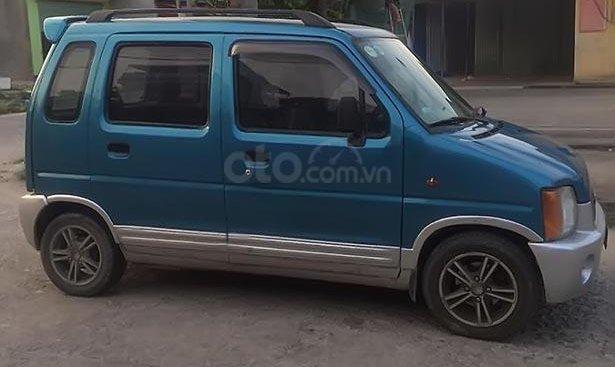 Cần bán xe Suzuki Wagon R+ đời 2004, màu xanh lam