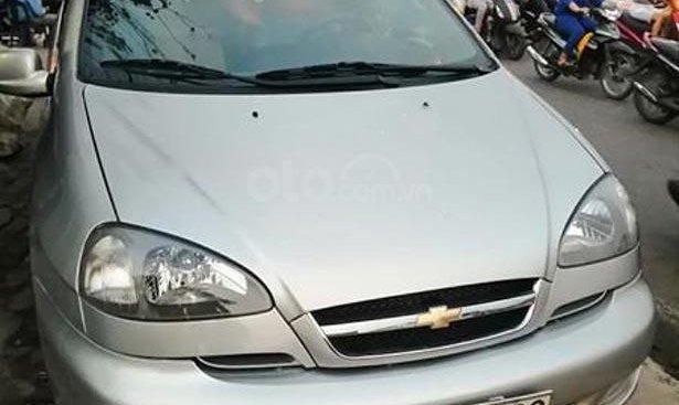 Bán Chevrolet Vivant đời 2008, màu bạc số tự động, giá 203tr