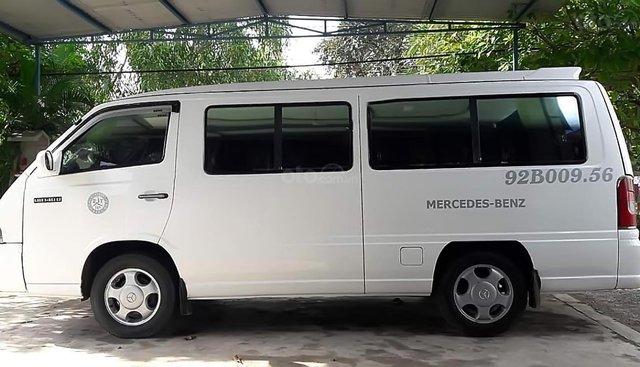 Cần bán lại xe Mercedes MB140D đời 2002, màu trắng đã đi 90000 km