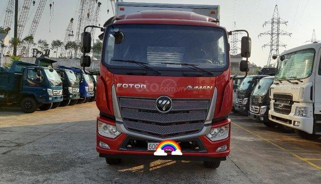 Bán xe tải Thaco Auman C160, 9 tấn thùng kín 7,4m tại Đồng Nai