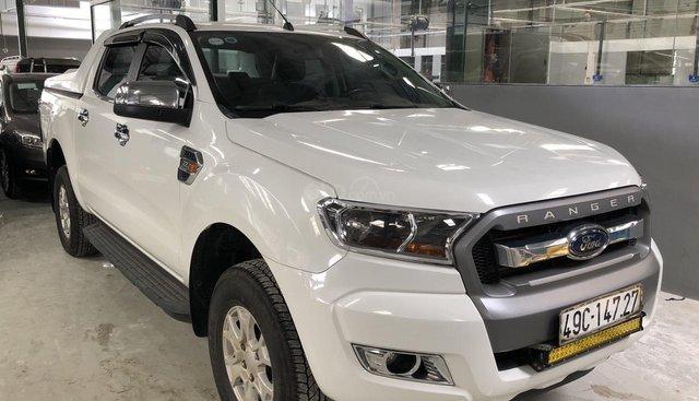 Cần bán Ford Ranger XLS AT 2.2 sản xuất 2017, màu trắng, nhập khẩu