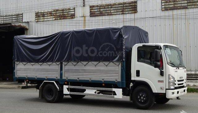 Bán xe tải Isuzu 5T5 thùng bạt 5m6 - NQR75LE4