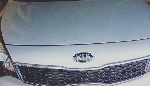 Bán Kia Rio sản xuất 2015, màu bạc, nhập khẩu nguyên chiếc