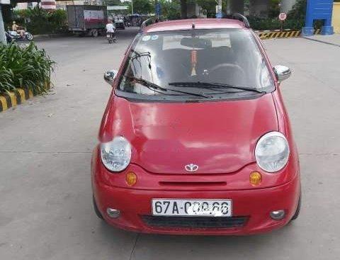 Bán lại xe Daewoo Matiz SE 2007, màu đỏ, nhập khẩu
