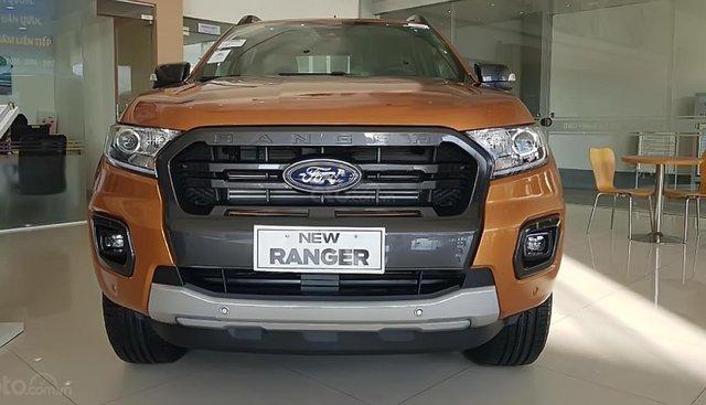Bán xe Ford Ranger Wildtrak 2.0L 4x4 AT đời 2019, nhập khẩu, giá tốt