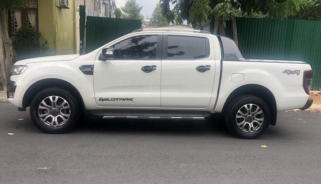 Cần bán xe Ford Ranger AT sản xuất năm 2015, màu trắng, xe nhập