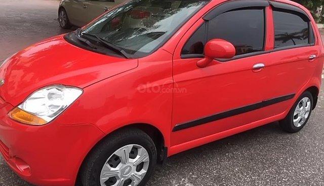 Bán Spark Van 2 chỗ màu đỏ, rất đẹp, Sx 2015, xe nguyên bản