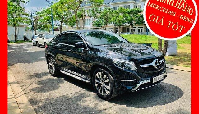 Bán xe Mercedes GLE400 coupe đen 2018 chính hãng dòng xe siêu sang