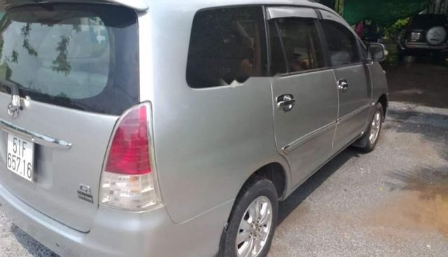 Chính chủ bán ô tô Toyota Innova G SX 2008, màu bạc