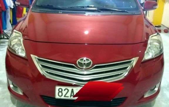 Chính chủ bán ô tô Toyota Vios 1.5E đời 2012, màu đỏ