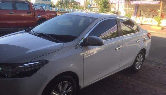 Gia đình bán xe Toyota Vios đời 2018, màu trắng