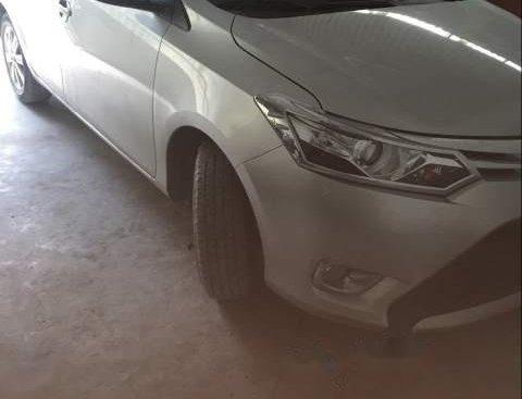 Bán Toyota Vios G năm sản xuất 2017, màu bạc