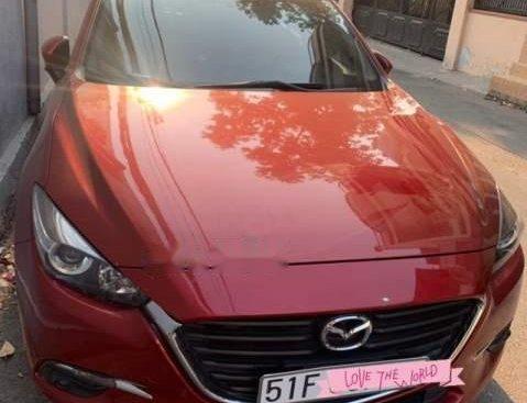 Bán ô tô Mazda 3 đời 2017, màu đỏ, máy êm