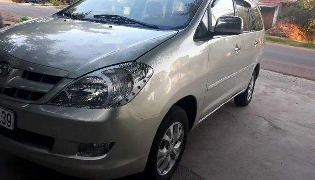 Bán Toyota Innova G đời 2008, màu bạc, xe nhập xe gia đình