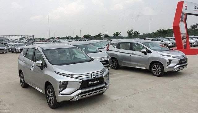 Bán Mitsubishi Xpander sản xuất 2019, màu bạc, nhập khẩu