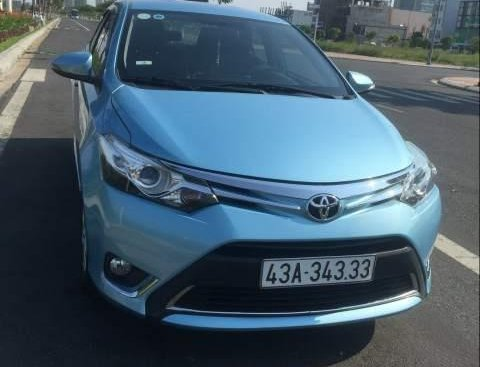 Bán Toyota Vios G 2014, màu xanh lam, nhập khẩu