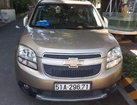 Bán Chevrolet Orlando đời 2012, màu vàng kim, giá tốt