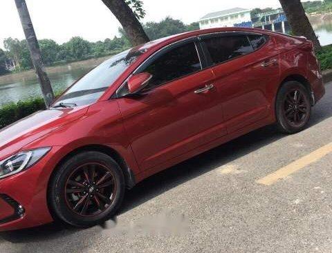 Cần bán lại xe Hyundai Elantra sản xuất năm 2017, màu đỏ, không đâm đụng, ngập nước