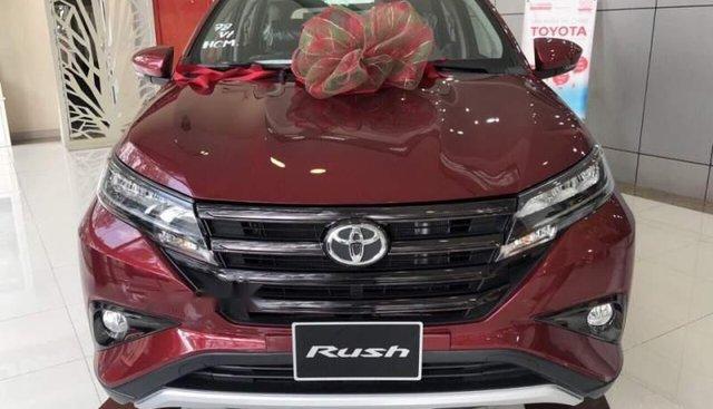 Bán Toyota Rush sản xuất 2019, màu đỏ, nhập khẩu