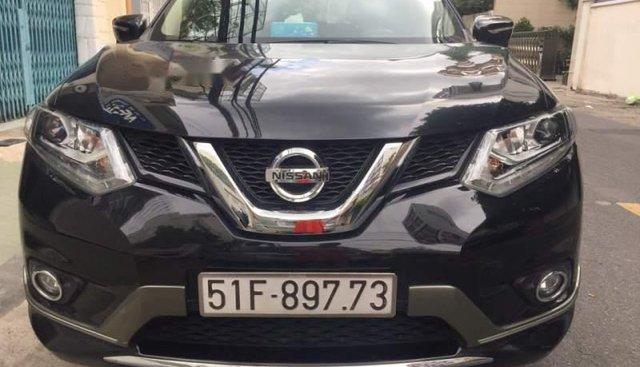 Bán Nissan X trail sản xuất 2017, màu đen chính chủ, 860 triệu