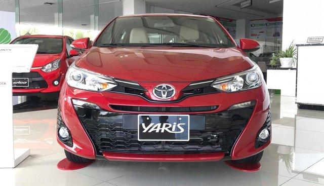 Toyota Yaris nhập khẩu Thailand nguyên chiếc, hỗ trợ trả góp 80% giá trị xe