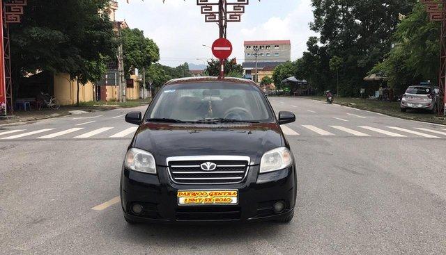 Cần bán xe Daewoo Gentra SX 2010, màu đen, xe tuyển chính chủ cán bộ Huyện