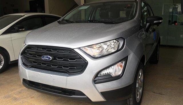 Gia đình bán Ford EcoSport đời 2019, màu bạc, giá tốt
