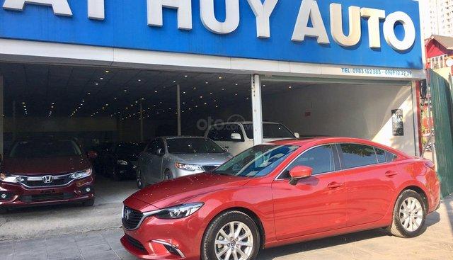 Cần bán Mazda 6 2.0 AT năm sản xuất 2018, màu đỏ, giá cạnh tranh