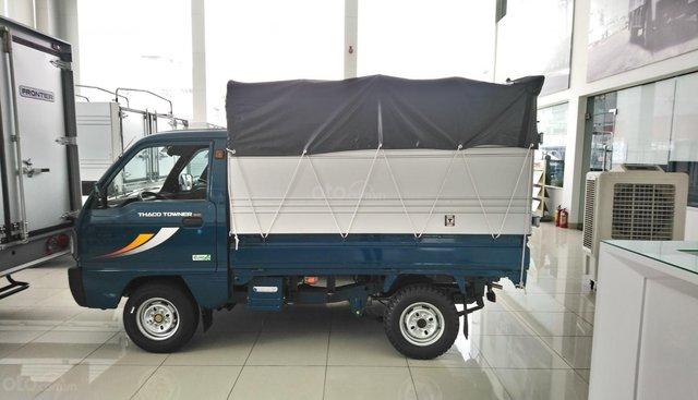 Xe tải thùng bạt Thaco Towner800 tải trọng 9 tạ - Hỗ trợ trả góp ngân hàng