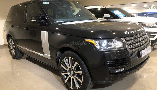 Bán LandRover Range Rover HSE 3.0 2014, màu đen, nhập khẩu, xe bán tại hãng
