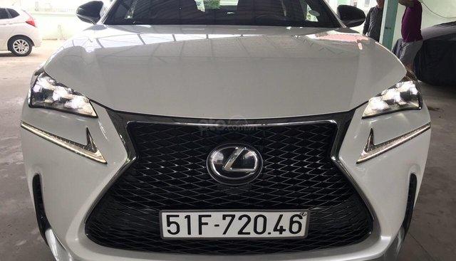 Bán Lexus NX200T Sport 2015 nhập Mỹ, xe đúng 27.000km bao kiểm tra hãng
