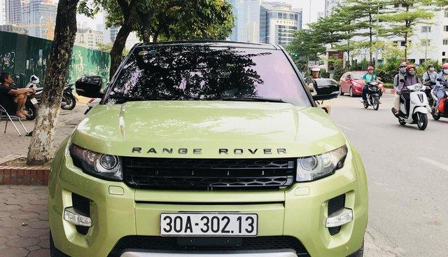 Cần bán xe LandRover Evoque sản xuất 2012 màu xanh