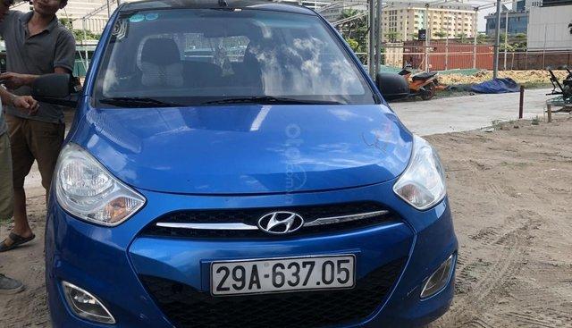 Bán xe Hyundai Grand i10 đời 2011, màu xanh lam, nhập khẩu