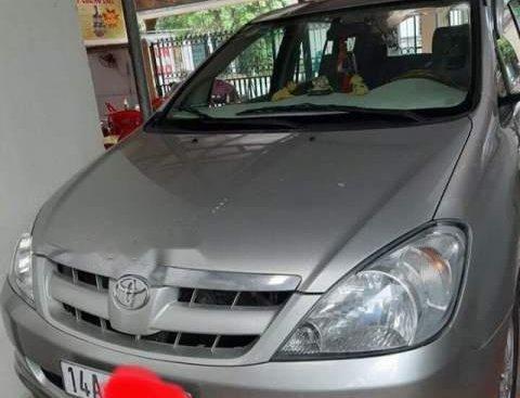 Bán Toyota Innova G sản xuất 2008, màu bạc, chính chủ giá cạnh tranh