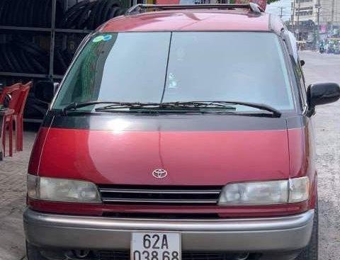 Bán Toyota Previa sản xuất năm 1991, màu đỏ, nhập khẩu nguyên chiếc