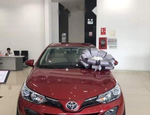 Toyota Hùng Vương bán Toyota Vios G sản xuất năm 2019, màu đỏ, giá 606tr