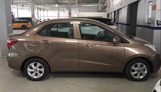 Cần bán xe Hyundai Grand i10 đời 2019, màu nâu