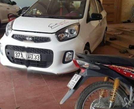 Bán Kia Morning sản xuất 2016, màu trắng, xe công ty xuất hóa đơn