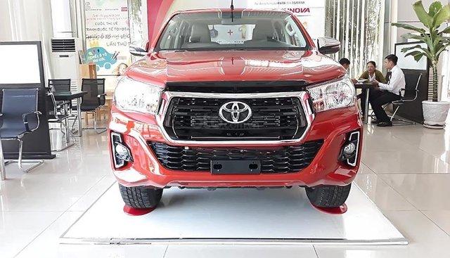 Bán xe Toyota Hilux 2.4G 2019, màu đỏ, nhập khẩu, xe mới hoàn toàn