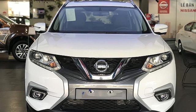 Bán Nissan X trail sản xuất 2019, màu trắng, xe mới 100%