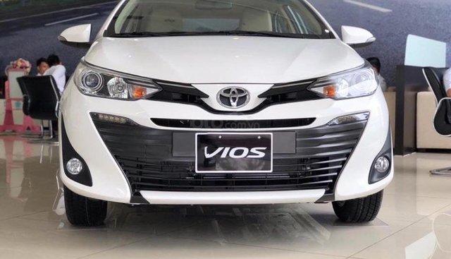 Cần bán xe Toyota Vios 1.5G 2019, màu trắng
