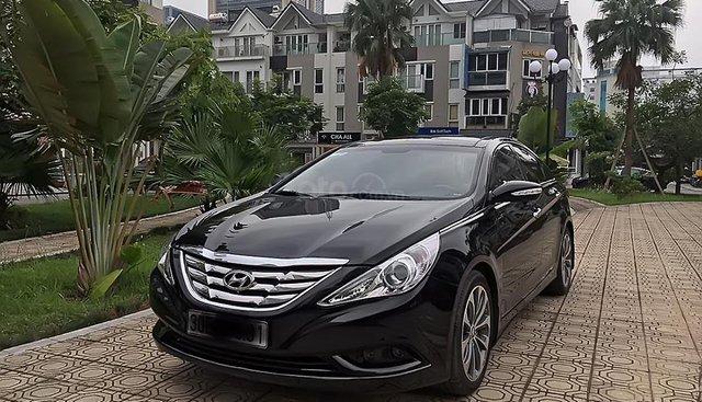 Bán Hyundai Sonata D sản xuất năm 2012, màu đen, nhập khẩu