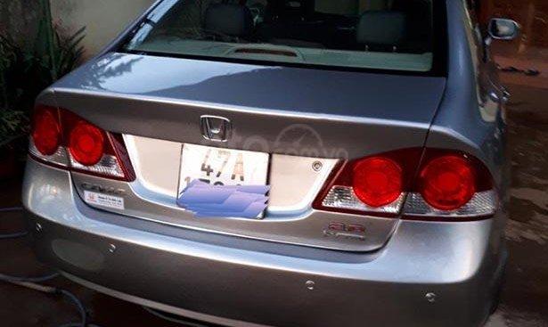 Bán xe Honda Civic 2.0 AT sản xuất năm 2008, màu bạc