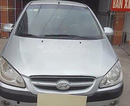 Bán xe Hyundai Getz 1.1 MT 2008, màu bạc, nhập khẩu