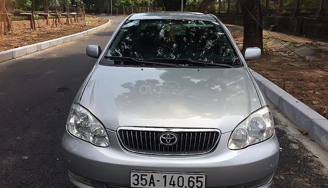 Chính chủ bán Toyota Corolla altis năm 2002, màu bạc