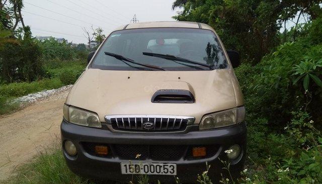 Cần bán gấp Hyundai Starex sản xuất 2003, màu vàng xe bán tải, giá 135tr