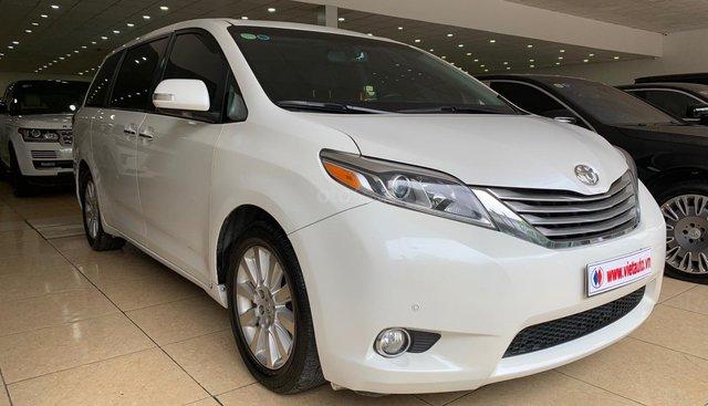 Bán Toyota Sienna Limited 3.5 đời 2016, màu trắng, nhập Mỹ đủ đồ
