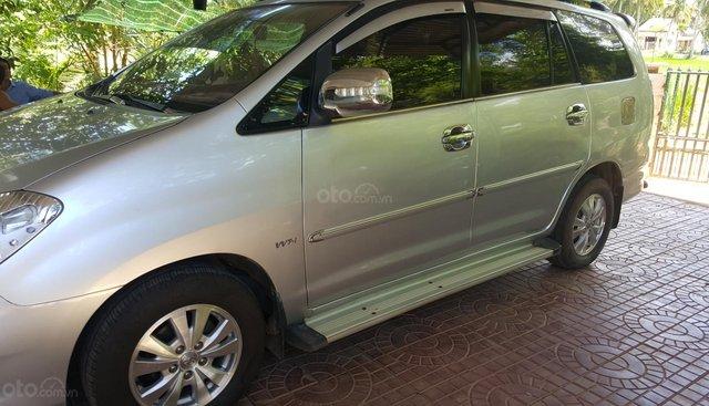 Bán xe Toyota Innova sản xuất 2008, màu bạc, giá chỉ 265triệu