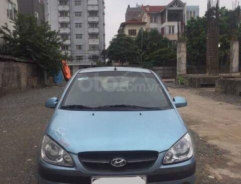 Bán Hyundai Getz 1.1 MT năm 2008, màu xanh lam, nhập khẩu